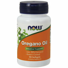 NOW Foods Oregano Oil with Fennel Oil 90 Softgels   Antibacterial Anti-Fungal