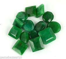 Green Emerald Gemstone Lot 100 Ct/14Pcs Natural Mix Shape Brazilian Loose