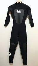 Quiksilver Mens Full Wetsuit Size Small S Syncro 3/2