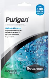Seachem Purigen 100ml Filter Bag Remove Waste Marine Freshwater Clear Water