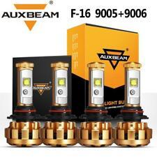 New listing 4Pcs Auxbeam 9005+9006 Led Headlight High Low for Honda Accord 90-12 Civic 04-15