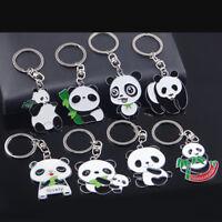 Cute Panda Keychain Keyring Bag Car Hanging Pendant Key Ring Chain Gift Fashion
