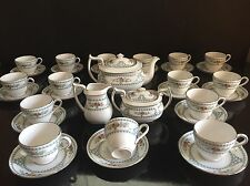 Spode England Bone China Versailles Pattern Flower Design  Tea Coffee Set For 15