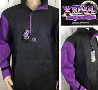 Vintage XENA Warrior Princess Jacket Windbreaker Anorak Rain Parka Unisex S NWT