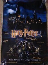 Harry Potter Sorcerer's stone Multi Cast Signed Poster, x 10 Gringotts Goblins