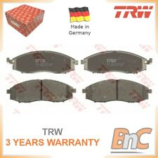 FRONT DISC BRAKE PAD SET FOR NISSAN TRW OEM 41060VK190 GDB3340 HEAVY DUTY