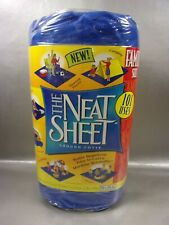 """Factory Sealed The Neat Sheet Ground Cover 90X114"""" Family Size Picnic &/Or More"""