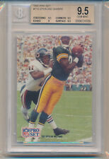 1991 Pro Set Football 1st Place Color Photo (#715) (Subs 3-9.5's/1-9) BGS9.5 BGS