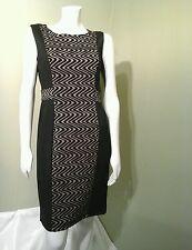 ENFOCUS WOMEN'S Green & Taupe Sleveeless Dress~Size 10