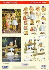 Hummel 33 3D Decoupage Sheet Card Making Paper Crafts *CUTTING REQUIRED*