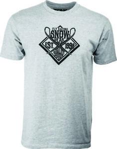 Fly Racing Grey Snow T-shirt