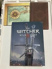 The Witcher 3 III Wild Hunt Official Collector's Edition Strategy Guide + Bonus