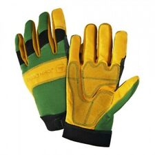 John Deere JD00009 Glove, John Deere Grain Cowhide Leather Work Glove, NWT.