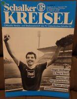 FC Schalke 04 + Schalker Kreisel 01.09.1987 + Bundesliga Bayer Uerdingen /517