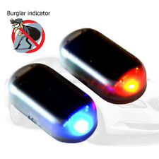 Car Fake Solar Alarm LED Light Security System Warning Anti Theft Flash Blinking