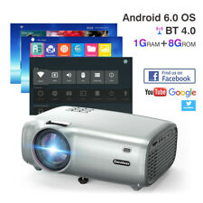 Excelvan BL49 Wifi Theater Projecteur LCD Projector Android 6.0 1080P HD 1G+8GB