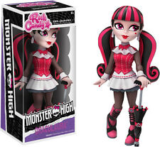 "FUNKO ROCK CANDY MONSTER HIGH DRACULAURA 5"" DESIGNER VINYL FIGURE"