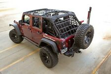 Rugged Ridge Cargo Net 07-17 Jeep Wrangler JK Unlimited 4 Door 13552.71 Black