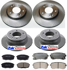 KIA CEED 1.4 1.6 1.6 CRDI (2007-2012) FRONT AND REAR BRAKE DISCS AND PADS SET