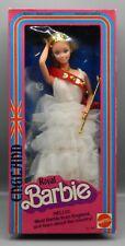 1979 vintage Mattel England ROYAL BARBIE doll w/ original box 1601 British CUTE!