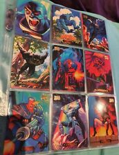 94 Marvel Masterpieces Trading Card lot.