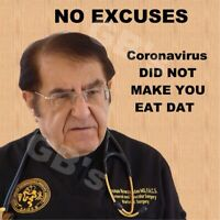 Dr. Now Kitchen Refrigerator Magnet-NO EXCUSES