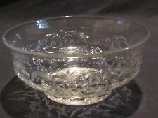 McKee Glass Rock Crystal Finger Bowls