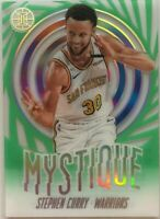 2019-20 Panini Illusions Stephen Curry Green Mystique Acetate #9