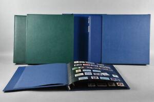 g91e41- 3x Briefmarken Album