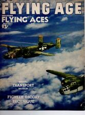 "Flying Age Magazine July 1945 Vol.50 No 4 ""Fighter Escort Technique"""