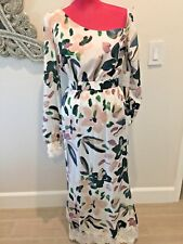 STONE COLD FOX LACE MIDI DRESS OFF SHOULDER SIZE 2 NEW WITH TAGS