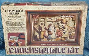Old World Series Dimensionale Kit 12948 Country Store 3-D Shadowbox Picture NEW!