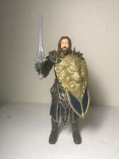 World of Warcraft Movie Knight Champion Lothar Action Figure Sword And Shield