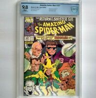 AMAZING SPIDER-MAN # 337 CBCS 9.8 ~ WHITE PAGES ~ just like CGC ~ Sinister Six