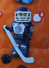 Lego 8804 Series 4 #8 Ice HOCKEY PLAYER figure Minifigure New Sealed pack