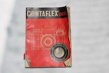 ZEISS IKON CONTAFLEX FOCUL GUIDE BOOK