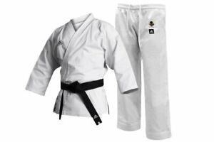 adidas Karate Suit Gi Club WKF Approved Adult / Kids Uniform White K220C