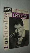 JUKE BOX 033 (1/7/59) SACHA DISTEL BRENDA LEE GUY BEART ELVIS PRESLEY  AVALON