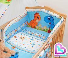 6 Piezas Juego Cama Con Grueso Tope 140x70 cm cama cuna para bebé - Diseño 20