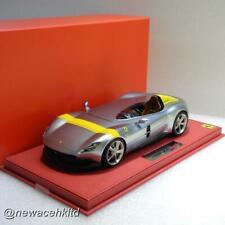 Ferrari Monza Sp1 metal grey Bbr Model 1/18 #P18164A