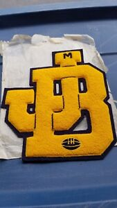 1950's Jennerstown Boswell Pa Football Letterman's Pennant