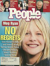 People Magazine - July 9, 2001  Meg Ryan Carroll O'Connor Barry Bonds Irene Cara