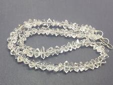 "Natural grade AA quality 7-9mm crystals diamond Quartz 16"" beading strands 1Pc"