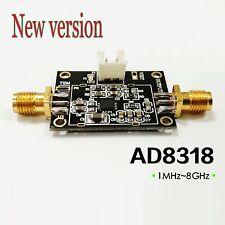 1MHz-8GHz 70dB Logarithmic Detector Controller AD8318 SiGe Log Amp Module RSSI