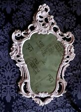 Exclusive Wall Mirror Rose Pink Baroque Reproduction Antique 50X76 Deco 118