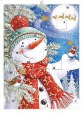 Muñeco de nieve de navidad Adviento Calendario-Ling Diseño Calidad Nueva