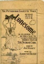 Lonesome - 1908 - Newspaper reprint