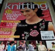 Ot029 Knitting Magazine, August 2010