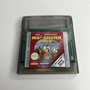 Die Original Moorhuhn Jagd Game Boy Gameboy Color Nintendo Tested Rare Import