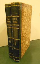 1842 IL POEMA TARTARO DI G.B. CASTI CON UNA CHIAVE STORICO CRITICA 2 VOLUMI